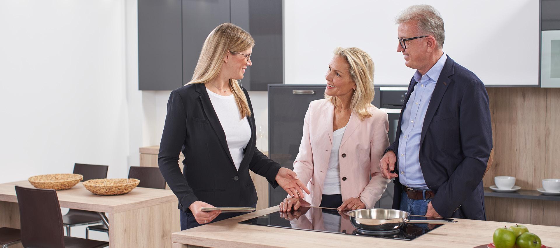 Beratung Küchenstudio Röck Rund-um-Service