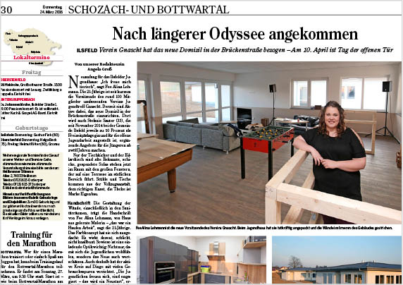 Heilbronner Stimme, März 2016